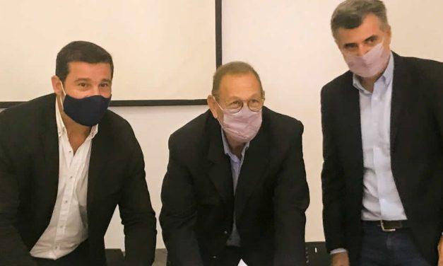 Rufino recibió 23 millones para construir cordón cuneta