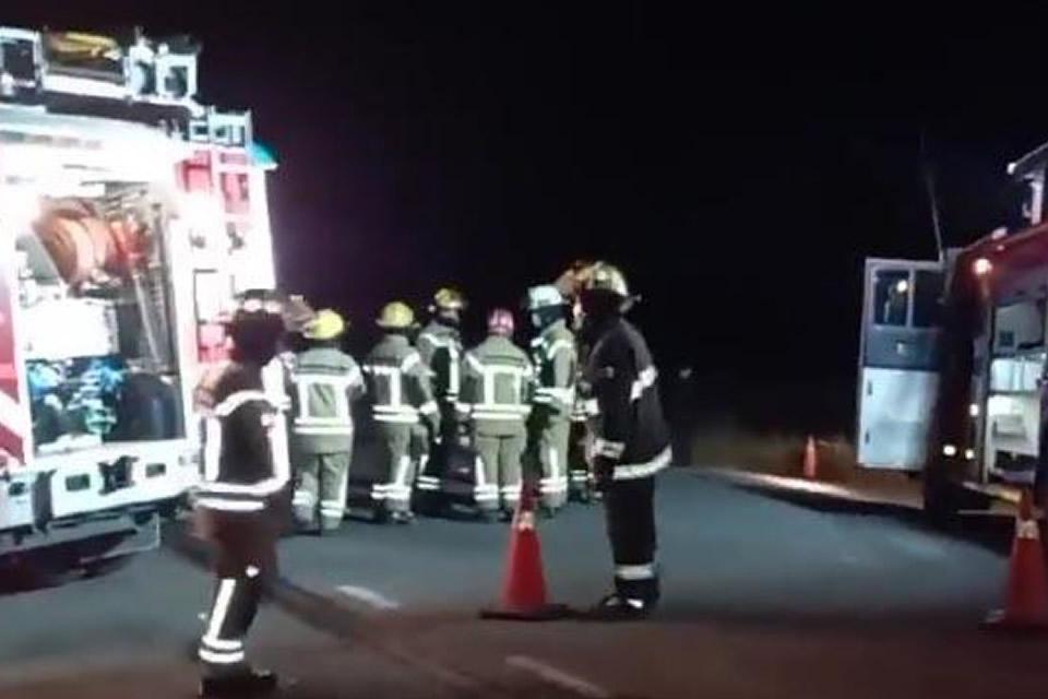 Tres fallecidos en accidente ocurrido en Ruta 33 cerca de Rufino