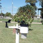 Estación meteorológica en Sociedad Rural de Rufino
