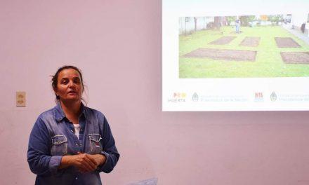 Este miércoles charla sobre siembra brindada por Sandra Spada