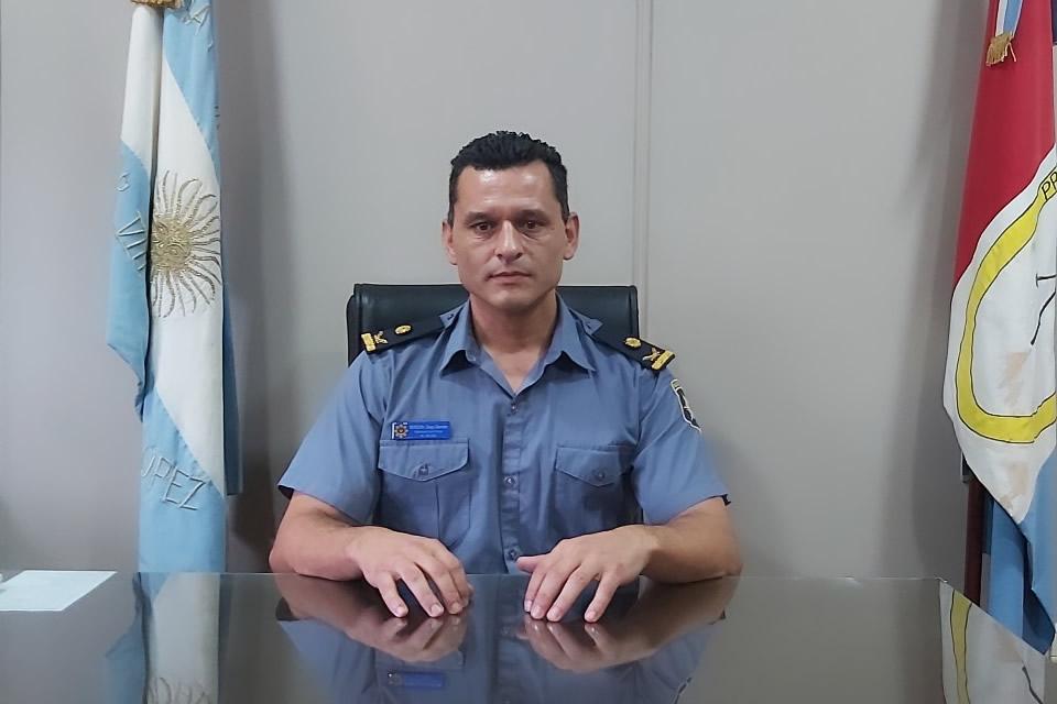 Asumió el nuevo Jefe de la Unidad Regional VIII Diego German Bordón