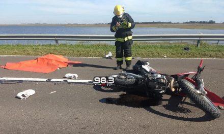 Falleció Alan Cándido en un accidente sobre ruta 33
