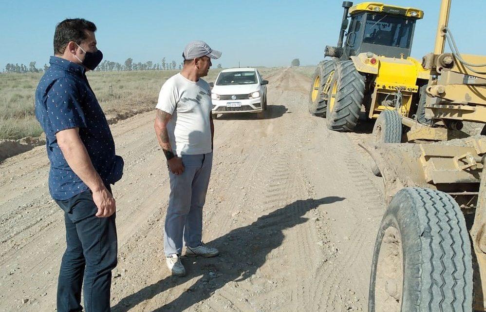 Siguen los trabajos en el camino a Saboya