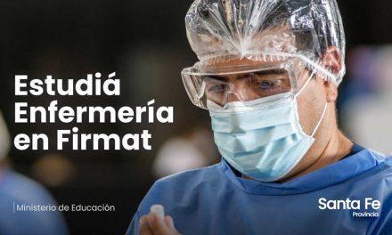 La provincia abrió la carrera de Técnico Superior en Enfermería en Firmat que será una extensión aúlica del Colegio Superior Nº 50 de la ciudad de Rufino