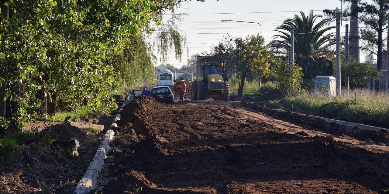 LLegaron los fondos para obras que se realizarán en Rufino
