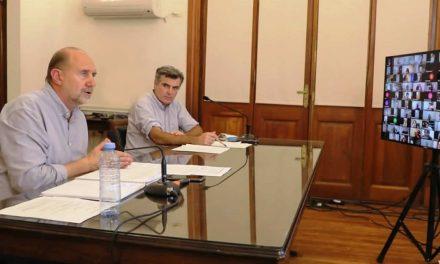 Rufino recibió de coparticipación 3 millones 700 mil pesos y de Fondos Covid 700 mil pesos
