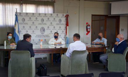 Reunión del municipio con Aguas Santafesinas