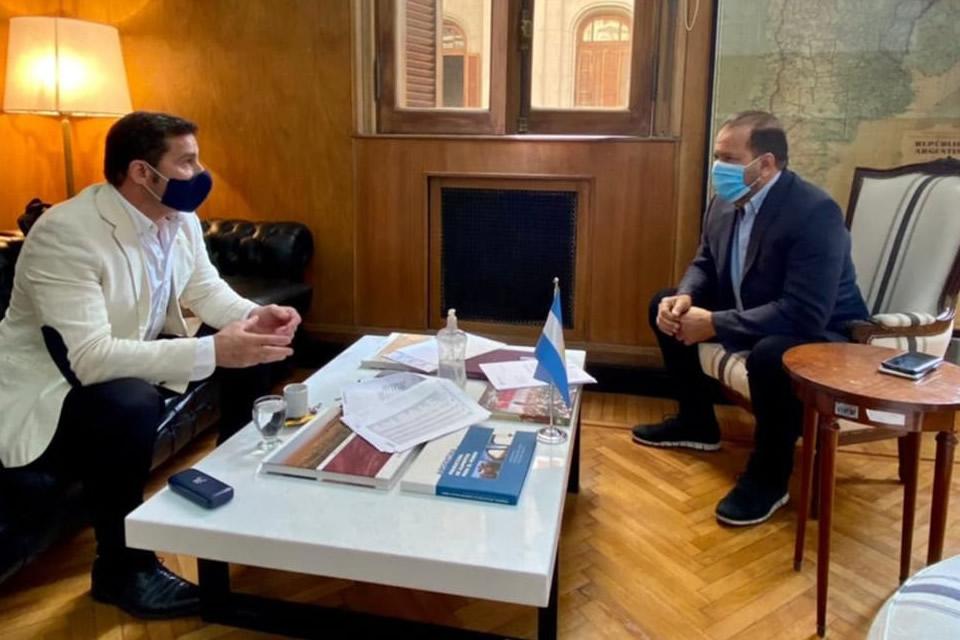 Lattanzi se reunió con el secretario de Agricultura, Ganadería y Pesca de la Nación, Jorge Solmi