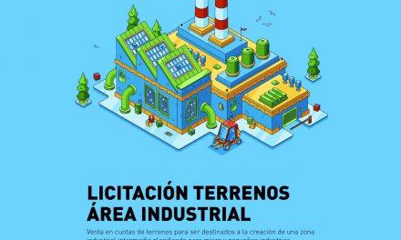 Apertura de sobres para licitar terrenos en el área industrial