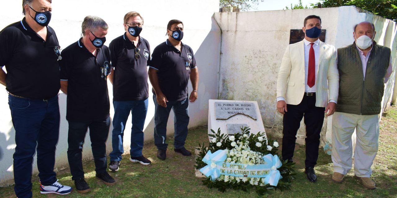 Acto del Día del Veterano y de los Caídos en la guerra de Malvinas