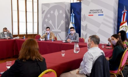 El gobierno de santa fe continúa con la ronda de diálogo con los partidos políticos