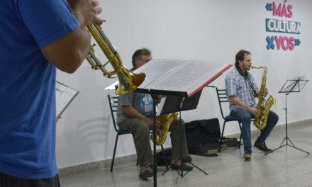 Nuevo taller de la escuela de música municipal de Rufino