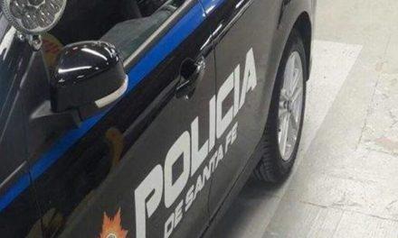 La policía de Rufino arrestó a un joven que tenía pedido de captura