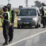 Operativo de acoholemia en Ruta 7 al ingreso a Rufino