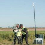 La provincia comenzó a realizar pruebas de detección de excesos de velocidad con cinemómetros móviles