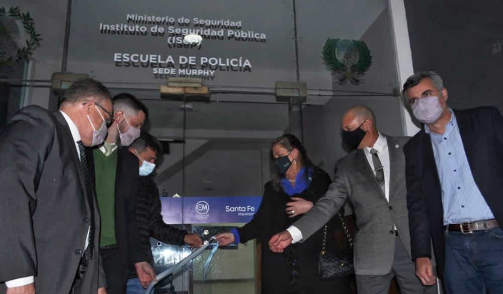 La provincia inauguró una nueva escuela de policía en Murphy