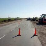 Recuperación de la Ruta Nacional Nº 33 en Firmat