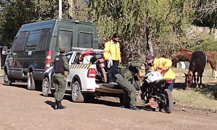 Operativos de control vehicular por Gendarmería en barrios de Rufino