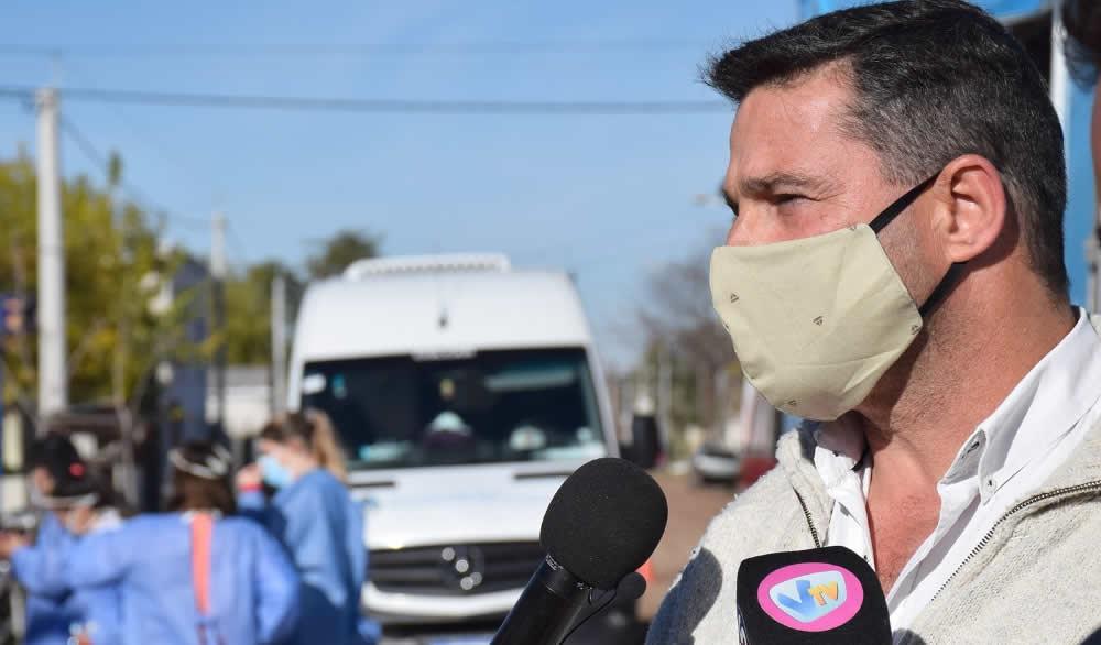 Lattanzi solicita igualdad en la distribución de vacunas para los vecinos de Rufino
