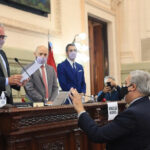 Farías asumió como nuevo presidente de la Cámara de Diputados y Diputadas