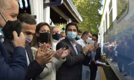 La CNRT acompañó la vuelta del tren a Serodino en Santa Fe