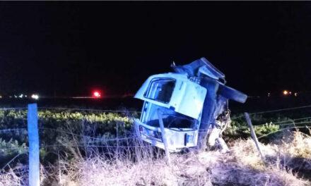 Elortondo: despiste fatal sobre ruta provincial S-37