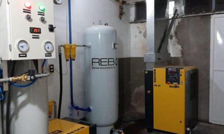 Lattanzi pidió por la máquina generadora de oxígeno instalada en hospital