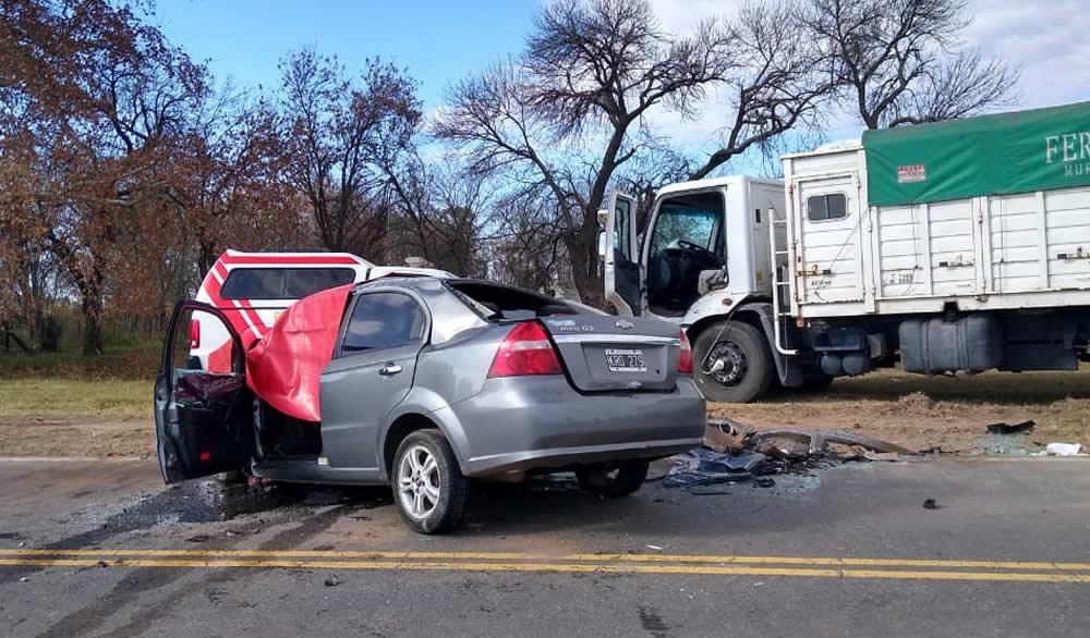 Accidente fatal en Ruta provincial 14 en cercanías de María Teresa