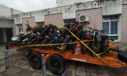 Tercer viaje a Santa Emilia con motos secuestradas