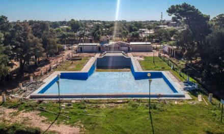 Enrico pidió que se finalice la puesta en valor del parque municipal de Rufino contemplando todos los trabajos proyectados