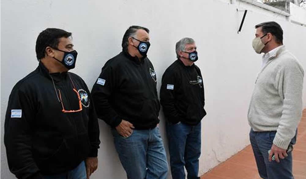 Colocación de Placa en Museo de Malvinas de Rufino