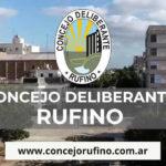 Concejo Deliberante de Rufino habilitó su página Web