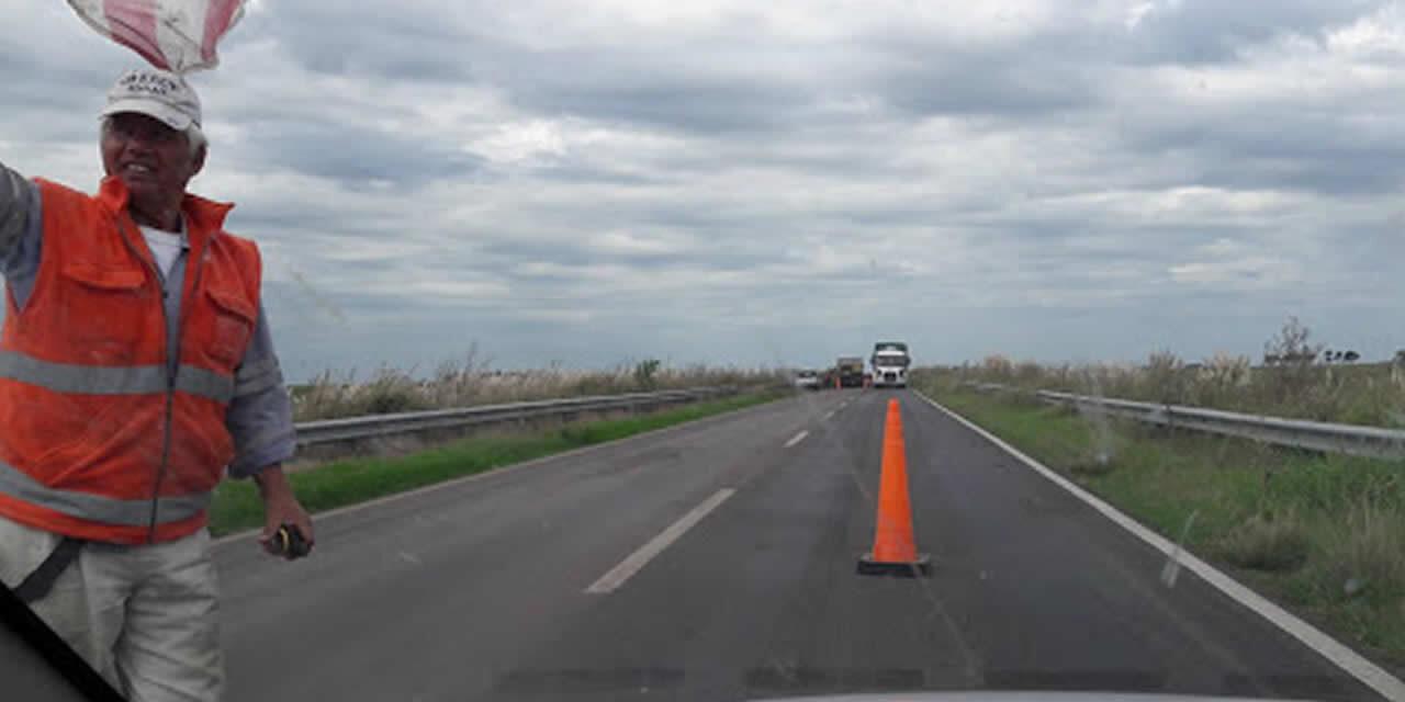 El lunes se normalizará el trabajo de reparación de la Ruta 33 entre Rufino y General Villegas