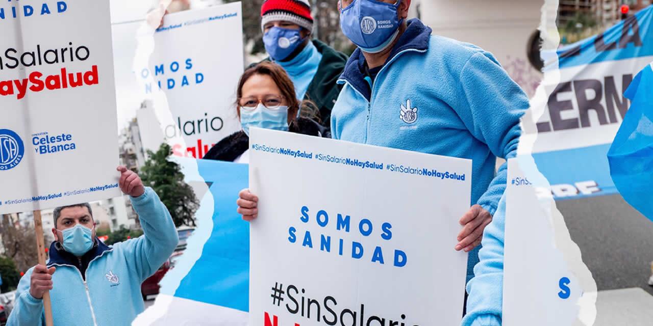 Trabajadores de la Salud Privada van al paro el jueves y viernes en todo el país