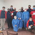 El 75% de Bomberos de Rufino fueron inoculados con la primera dosis de la vacuna del Covid-19