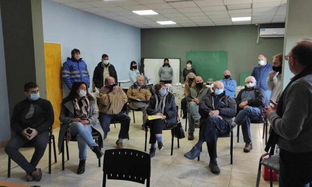 Vialidad Nacional concretó una reunión con los propietarios de la zona de Amenábar incluidos en la traza de la Autopista de RN 33