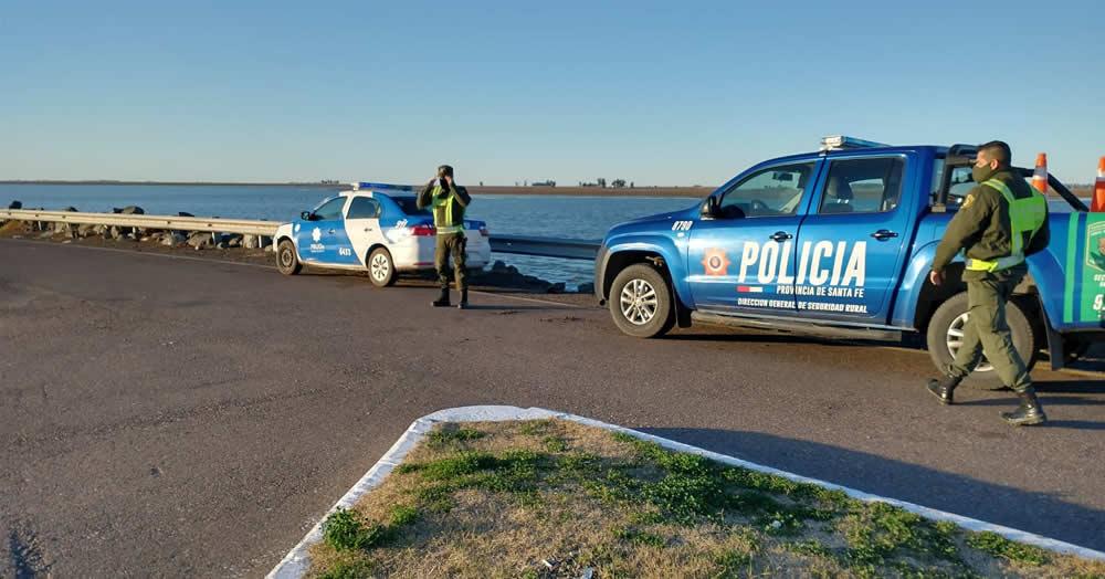 Operativos de control en Laguna La Picasa