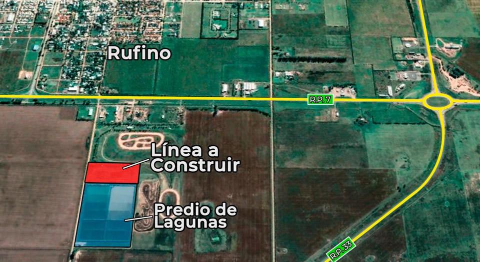 Enrico solicita que se avance rápidamente con la tercera línea de lagunas depuradoras en Rufino