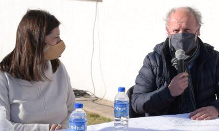 Clara García la precandidata a senadora por el Frente Amplio Progresista visitó Rufino