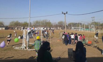 Club Belgrano celebró el día del niño