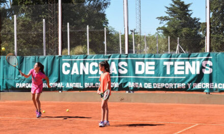 Arranca la Escuela de Tenis en septiembre