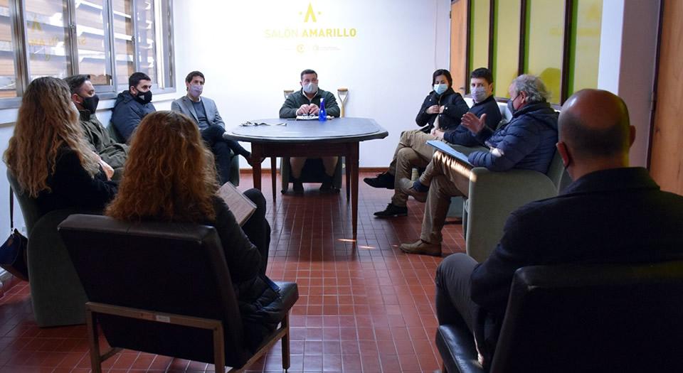 Intendente se reunió junto a concejales de Rufino