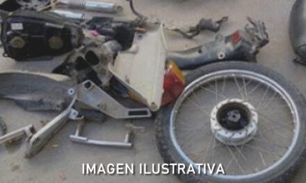 Recuperan en Sancti Spiritu parte de una moto robada en Rufino