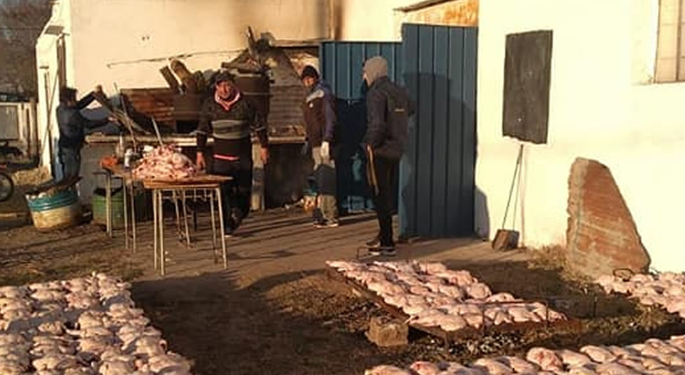 Club Belgrano agradeció quienes colaboraron con la gran pollada