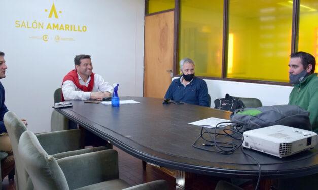 Ejecutivo municipal se reunió con Agricultores Federados Argentinos