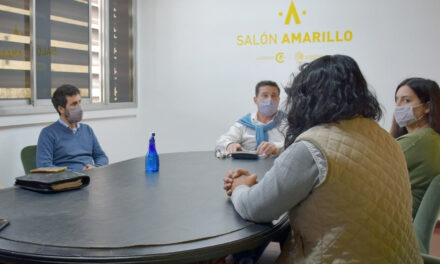 El intendente se reunió con Mariela Giordano y Nancy Chocobares