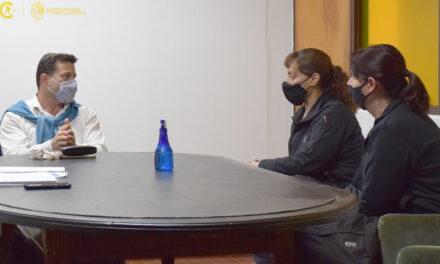 El intendente mantuvo diversas reuniones
