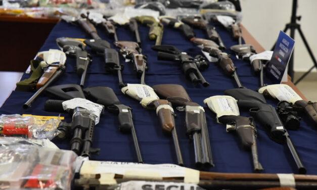La Policía de la provincia secuestró 2.441 armas de fuego en lo que va del 2021