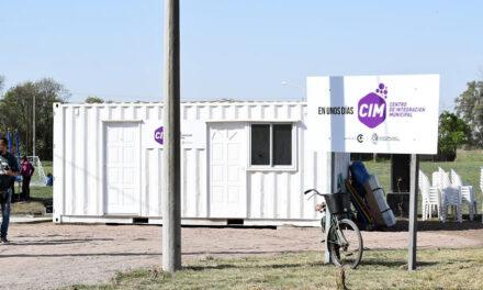 Quedó inaugurado el Centro de Integración Municipal en Lavalle y Lavalleja del Barrio General San Martín