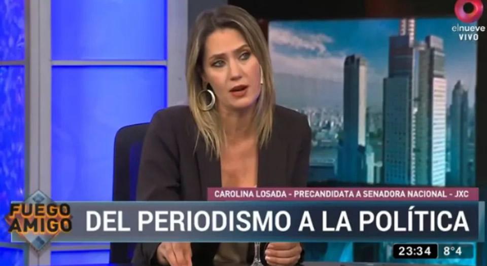 Debate: Carolina Losada, la gran ausente en Rosario